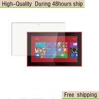 High Quality Clear Screen Protector Film For Nokia Lumia 2520 Free Shipping DHL UPS EMS HKPAM CPAM