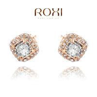 Earings Roxi Fashion New Arrival, Genuine Austrian Crystal,manual Mosaic Jewelry,women Trendy Earringschrismas /birthday Gift