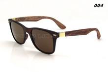 2015 rivestimento occhiali occhio gli uomini occhiali da sole di legno di modo gafas legno di bambù occhiali da sole donne del progettista di marca sport oculos 4195(China (Mainland))
