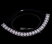 Hot Sale,2014 New Fashion Rhinestone and Zinc Alloy  Headband For Women,Fashion Silver And Chain Head Wear, Hair Wear HD-54