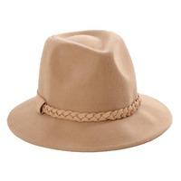 6pc/lot Mix NEW Women Winter Wool Felt Fedora Hat Womens Fedoras Cap Ladies Spring Trilby Caps Lady Fall Wide Brim Felt Hats