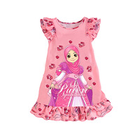 KNB Summer Frozen Kids Pijamas Princess Sofia Girl Pajamas Dress Cotton children's Pyjamas Casual Baby Girl Sleepwear APS048