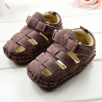 Kids Toddler Baby Boys Hollow Out Soft Sole Baby First Walkers Sandals Shoes For Freeshipping