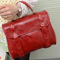 College wind handbag British vintage fashion leisure single shoulder bag women messenger bags,BAG169