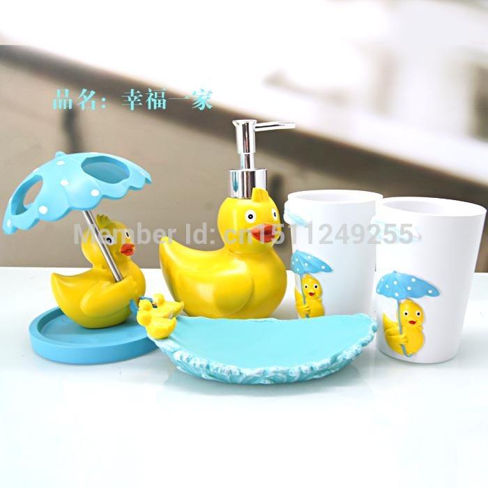 Juegos De Baño Jaboneras:Duck Toothbrush Holder Bathroom