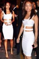 fantasias  White Cutout Straps Midi Dress vestidos women dress new 2014  lady's sexy backless bodysuit overall womens bodycon