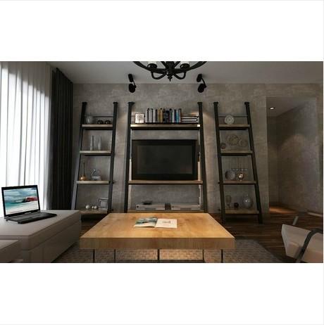 American country antique wrought iron racks bookcase shelf TV cabinet decorative frame minimalist TV backdrop(China (Mainland))