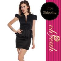 Large Discount summer dress 2014 women work wear High Recommend evening dress New Arrival Fashion women Dress R75961