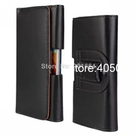 LEATHER WALLET CASE COVER HOLSTER WITH BELT CLIP FOR SAMSUNG GALAXY S4 I9500 S5 I9600 S3 I9300 Free Shipping 10pcs/lot