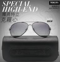 In 2014 the new trend of Korean Sunglasses Polarized Sunglasses and big box couple glasses UV Free Shipping