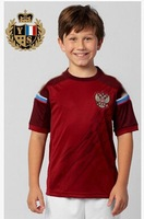 New 14-15 Russia Home  2014 World Cup Soccer Jersey Boys Children Youth Home Shirt +Shorts As Gift