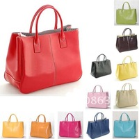 14 Colors Faux Leather Women Clutch Purse Handbag Shoulder Tote Bag