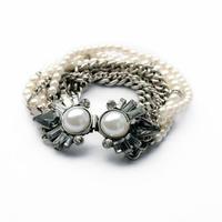 2014 Pearl Multi Layers Charm Bracelet Summer Bracelet Wedding Jewelry  Design Jewelry Wholesale Min $20(can mix)  Free Shipping