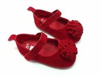 Stylish Kids Infant Baby Girls Soft Sole Mary Jane Shoes First Walkers 3 Colors For Freeshipping
