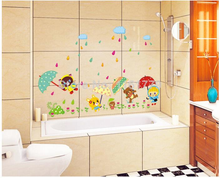 animal bear rain umbrella waterproof wallpaper for