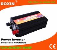 Doxin brand dc ac 48v 220v car power converter transform 2500w