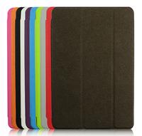 New Fashion 3 Fold Slim Smart Magnetic Cover Case for Apple iPad Mini 2 Sleep Wake W/Stand Free Shipping