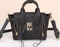 Pashli Satchel with Strap fluorescent Mini little monster cute shoulder bag aslant Mini bag leather handbag