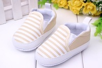 Kids Toddler Baby Unisex Boys Girls Striped Anti-Slip Sneakers Soft Bottom Shoes For Freeshipping