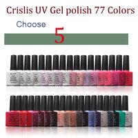 Choose 5 Color Gel Nail Kit For Nail Gel Uv Soak Off Nail Gel Wholesale