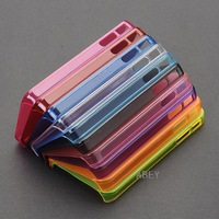 New 1pc 0.5mm Ultra_Thin Slim Hard  Matte Back Case Cover Protector for  iPhone 4 4S 4GS PVC_plastic