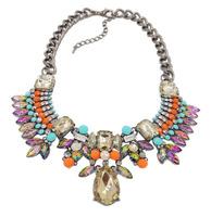 2014 New Arrival fashion bib choker chunky Necklace statement jewelry necklaces & pendants wholesale