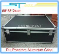 Newest DJI Phantom Professional Aluminum Case For Propguard Transmitter Drone Quadcopter FPV Walkera QR X350 pro  helikopter