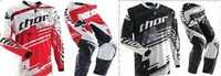 2014 NEW THOR Pants T-shirt Race Motocross Suit motorcycle jersey moto clothing T-Shirts suits set Racing Cross country off-roa