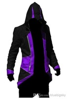 """Wholesale - """"Assassin's Creed 3 Connor red black model COSPLAY clothing"""