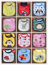 Free Shipping Nursing Cover Baby Boy&Girl Unisex Newborn Children  Cute Cartoon Soft Baby Bibs(China (Mainland))