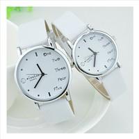 Fashion watches Korean fashion lovers table EXO Korean men, Ms. student table Wristwatches