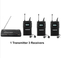 2014 UHF Wireless In Ear Stage Monitor System TAKSTAR In Ear Stage Wireless Monitor System 3 Receiver + 1 Transmitter WPM-200