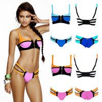 2015 New Arrival triangl style swimwear Women's Swimwears style Bikinis sexy swim suit set bikini set free shipping