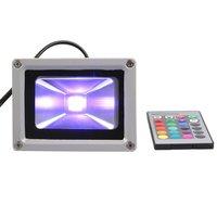 Bloomwin-10W 20W 30W 50W LED RGB PIR Flood Spot Light Outdoor Landscape Garden Lamp Waterproof IP65 AC100--245V