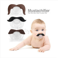 3 pieces/lot funny pacifiers silicone baby pacifier infant mustache pacifier holder bebe dummy soothers nipple products