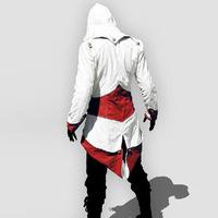 Assassins creed 3 Kohler Connor Connor Cosplay jacket dress spot set for blue Bai Zilv