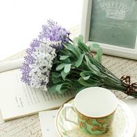 10 Heads Decorative  lavender artificial flower home decoration wedding gift