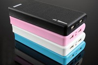 Hot 30pcs/lot 20000mAh External Power Bank Backup Dual USB Battery Charger for iPhone for HTC for PSP