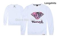 Moletons Hot Sale Freeshipping Regular 2014 New Diamond Sweatshirts Man Cotton Hoody High Quality Sportswear Cheap Tracksuits