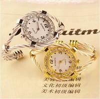 Korean fashion retro diamond bracelet watch ladies waterproof watch fashion watch Korean fashion Wristwatches