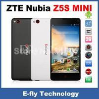 Original ZTE Nubia Z5S Mini Quad Core 3G Phones 4.7 Inch OGS 1280x720 Snapdragon 600 1.7GHz 2GB RAM 16GB ROM 13.0MP Camera