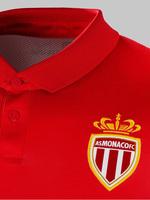 Top Thailand Quality 2014 15 Red White Monaco Home Soccer Jerseys Futbol Camiseta, Free Shipping