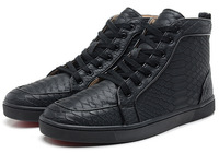 2014 fashion men's shoes red bottom shoes casual shoes high help shoes