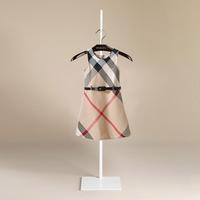 2014 girls dress England brand plaid dress 100% cotton sleeveless vestidos de menina teenager girls clothing 6 8 10 years old