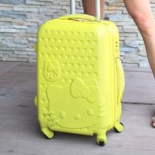 hello kitty suitcase promotion
