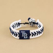 leather baseball bracelet promotion
