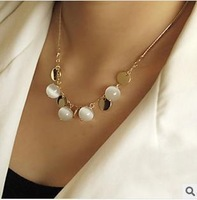 N037 Bohemia opal decorative short necklace B3.5