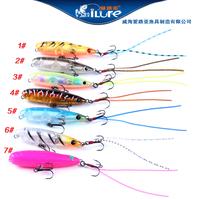 4pcs/lot 45mm 2.5g little fake bait mini lures sinking hard fishing lure with VMC hooks   XX45