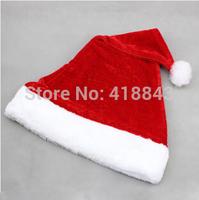Christmas decoration of high-grade super soft velvet plush Santa hat Christmas hats 40g