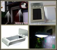 80Pcs/lot New Solar Powered 3.7V Outdoor Lighting Lamp Waterproof IP65 Wall Light light/Sound Sensor Energy-saving Garden T010